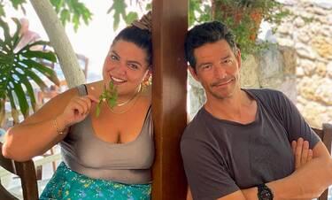 Δανάη Μπάρκα: Η... αινιγματική της απάντηση όταν ρωτήθηκε για την πραγματική της σχέση με τον Ρουβά!