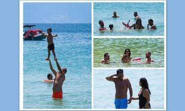 Ραντεβού στη Σκιάθο για Ασλάνογλου-Πέππα, Γεωργαντά και Τσουρό! Τα παιχνίδια στη θάλασσα!