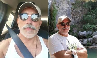 Χάρης Γρηγορόπουλος: Υπέροχες φωτό από τις καλοκαιρινές του διακοπές