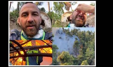 Ο Κώστας Αναγνωστόπουλος στο gossip-tv: «Μπαίνουμε στη φωτιά χωρίς μάσκες, δεν έχουμε νερό, βοήθεια»