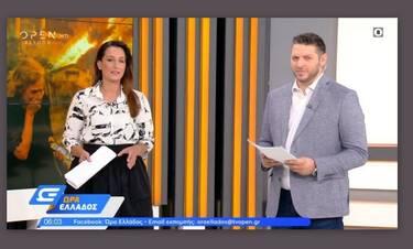 Βασίλης Τσεκούρας: Καταβεβλημένος στην εκπομπή «Ώρα Ελλάδος» μετά τον θάνατο του πατέρα του