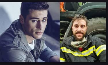 Μανώλης Μπλέτας: Το πρώην μοντέλο που έγινε εθελοντής πυροσβέστης (Photos)