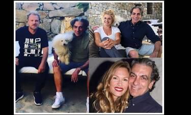 O Κώστας Σπυρόπουλος αποχαιρετά τον σχεδιαστή Χάρη Χουρμούζη που έφυγε από τη ζωή