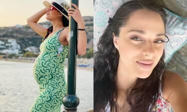 Ευαγγελία Συριοπούλου: Οι πρώτες φωτό με φουσκωμένη κοιλίτσα είναι απλά... υπέροχες!