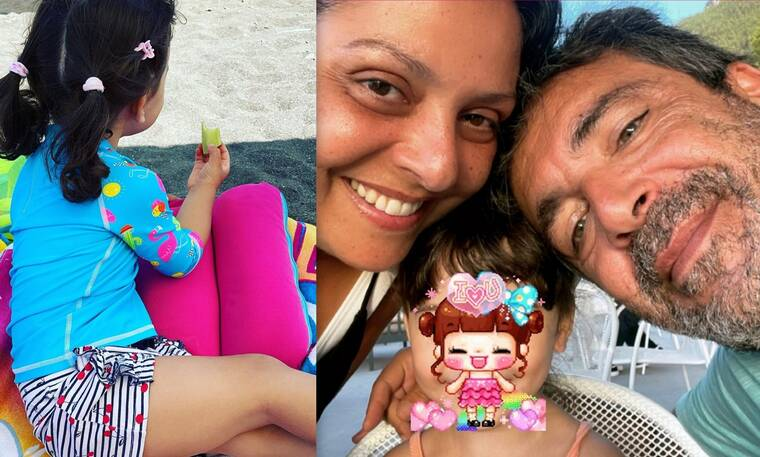 Βασιλική Ανδρίτσου: Η πιο γλυκιά φώτο ever της κόρης της - Δείτε πόσο μεγάλωσε