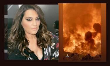 Φωτιά στα Βίλια: Κραυγή απόγνωσης από την Κατερίνα Ζαρίφη: «Πόσο ακόμα…»