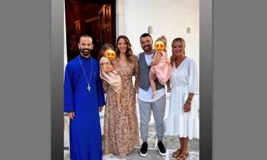 Ζέτα Μακρυπούλια: Νέες φώτο από τη λαμπερή βάφτιση της ανιψιάς της