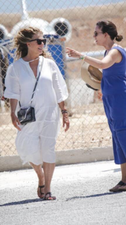 Tom Hanks-Rita Wilson: Η αναχώρηση από την Πάρο και η μοναδική εμφάνιση της ηθοποιού