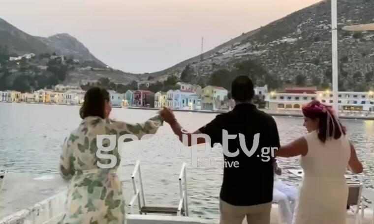 Αποκλειστικό: Ο γάμος στο Καστελλόριζο, η επώνυμη κουμπάρα και οι χοροί