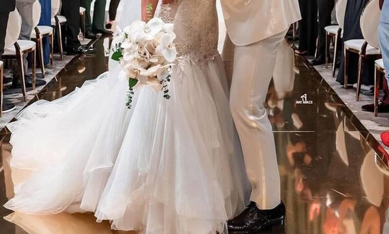 Λαμπερός γάμος για γνωστό ζευγάρι- Απίθανα πλάνα από την παραμυθένια δεξίωση (vid&pics)