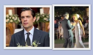Στρατής: «Έκλεψε» τις εντυπώσεις η σύζυγός του με το after wedding σύνολο! Το αξεσουάρ που λατρέψαμε