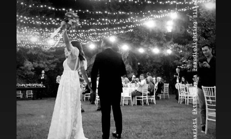 Παντρεύτηκε πρωταγωνίστρια του Έλα στη θέση μου! Το ξέφρενο γλέντι με τραγουδιστή τον Γιώργο Λιβάνη!