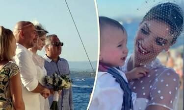 Μορφούλα Ντώνα: Παντρεύτηκε και βάφτισε τον γιο της στις όμορφες Σπέτσες! Οι πρώτες φωτό!