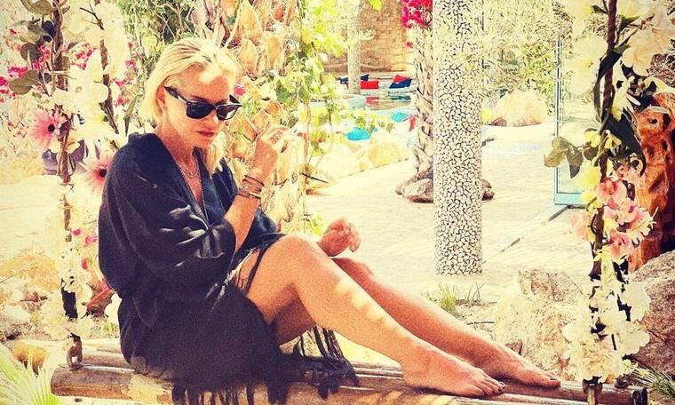 Μπεκατώρου: Άχαστη η νέα φωτό της με μπικίνι! Αδυνάτισε κι άλλο και η σιλουέτα της είναι απίθανη