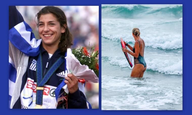 Όλγα Βασδέκη: Σπάνιες φωτογραφίες με την κόρη της – Δες πώς είναι σήμερα η πρωταθλήτρια στίβου
