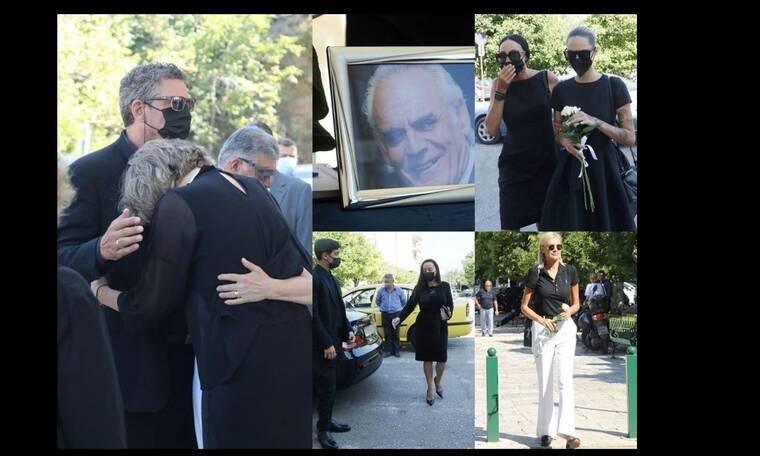 Θλίψη στο τελευταίο αντίο στον Άκη Τσοχατζόπουλο