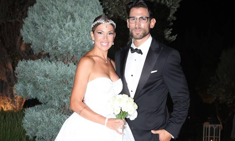 Χατζίδου-Παύλου: Οι πρώτες εικόνες από τον γάμο τους και τη βάφτιση της κόρης τους!