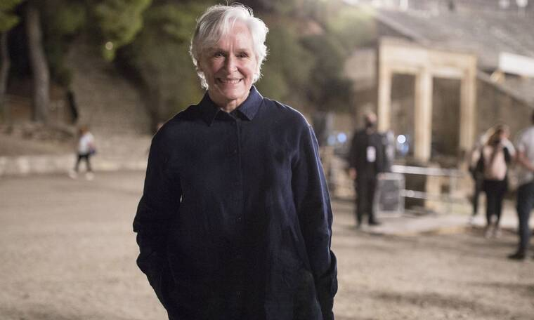 Δείτε την Glenn Close στην Επίδαυρο! Παρακολούθησε την παγκόσμια πρεμιέρα του Οιδίποδα!
