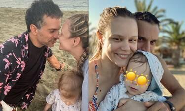 Γιώργος Χρανιώτης-Γεωργία Αβασκαντήρα: Βάφτισαν τον γιο τους στην Τήνο! Oι πρώτες φωτό!