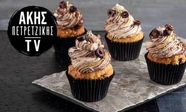 Muffins με φέτα και πάστα ελιάς από τον Άκη Πετρετζίκη