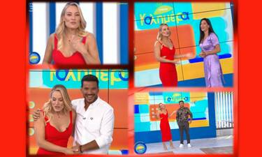 Mega Καλημέρα: Η λαμπερή πρεμιέρα της Ελεονώρας Μελέτη - Η συγκίνηση της παρουσιάστριας on air!