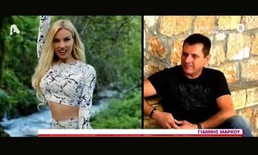 Γιάννης Μάρκου: Μιλά για την πρώην του Τζούλια Νόβα που είναι έγκυος και «πέταξε τα βέλη του»!