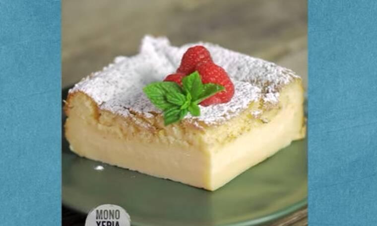 Magic cake από τα... μαγικά χέρια του Άκη Πετρετζίκη