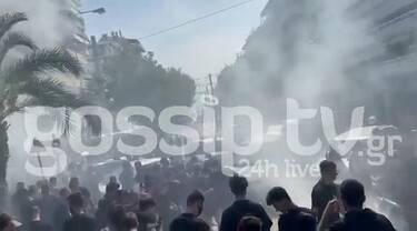 Αποκλειστικό βίντεο: Κηδεία Mad Clip: Οι θαυμαστές του τον αποχαιρέτησαν με γκαζιές και σπιναρίσματα