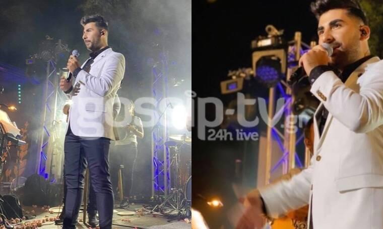 Κωνσταντίνος Παντελίδης: Αποθεώθηκε στη συναυλία του στη Χαλκιδική! (exclusive pics)