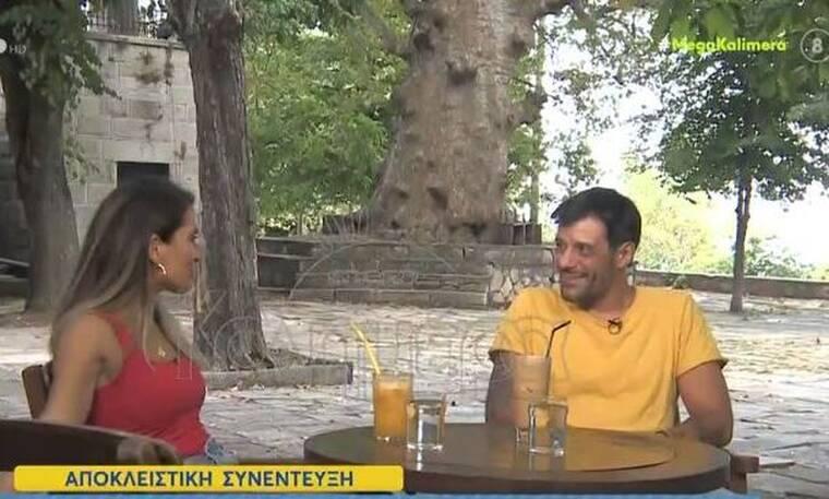Γιώργος Σεϊταρίδης: Η νέα του ζωή στο Πήλιο - Δείτε την κούκλα γυναίκα του στην εκπομπή της Μελέτη