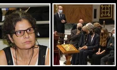 Μίκης Θεοδωράκης: Γιατί απουσίαζε η κόρη του από την τελετή αποχαιρετισμού; Τι απάντησε η ίδια;