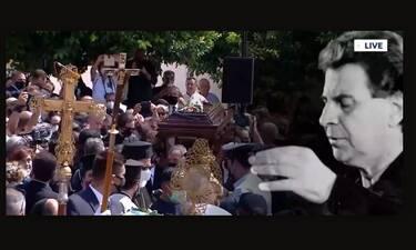 Κηδεία Μίκη Θεοδωράκη: Ράγισαν καρδιές οι βρακοφόροι με τον «αποχαιρετισμό» τους