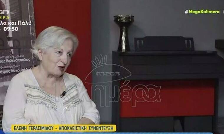 Ελένη Γερασιμίδου: Ξέσπασε στο Mega Καλημέρα για την αποχώρησή της από τη σειρά του Καπουτζίδη