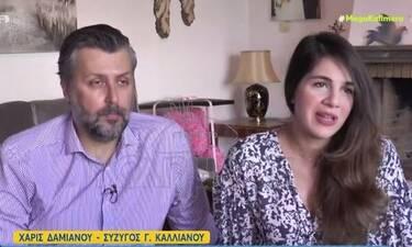 Καλλιάνος - Δαμιανού:Άνοιξαν το σπίτι τους στο Mega Καλημέρα και μίλησαν για το νεογέννητο μωρό τους