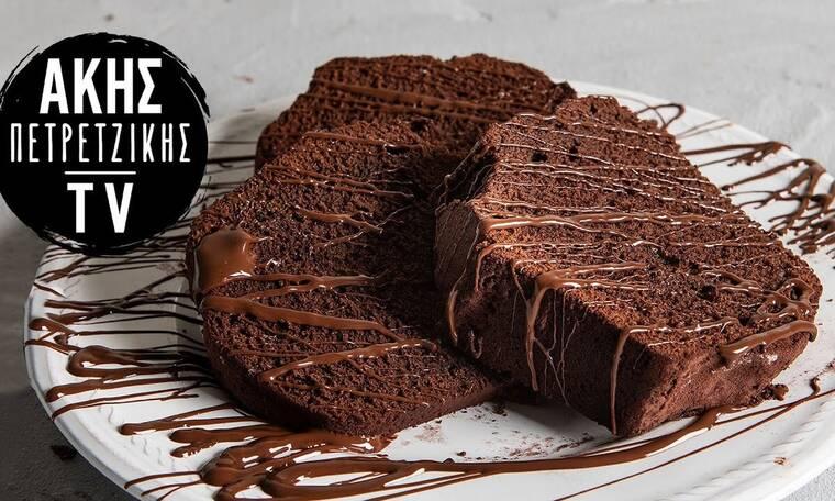 Λαχταριστό κέικ σοκολάτας από τον Άκη Πετρετζίκη