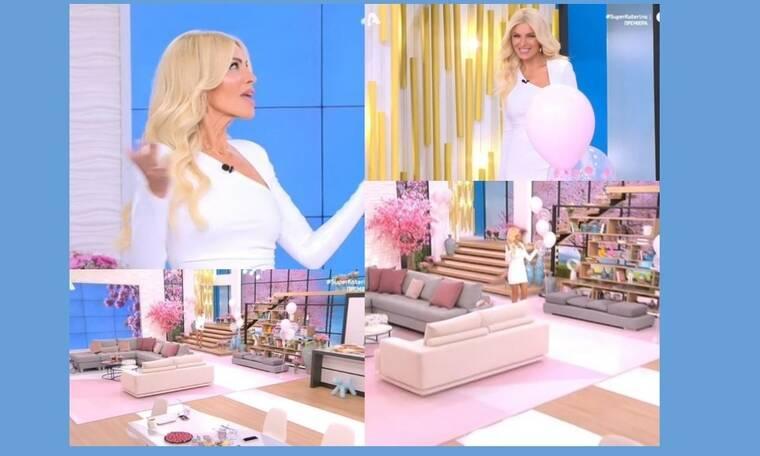 Super Κατερίνα: Πρεμιέρα για την Καινούργιου - Το λευκό φόρεμα, το εντυπωσιακό πλατό και η συγκίνηση