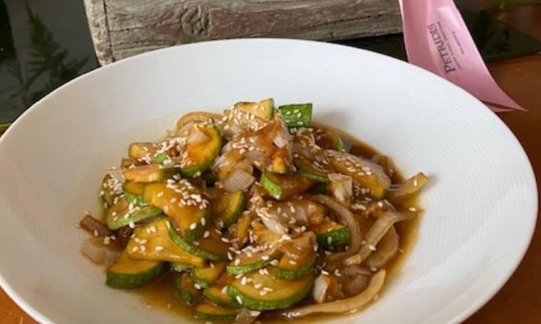 Συνταγή για Japanese Zucchini (Γράφει η Majenco)