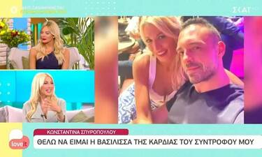 Κωνσταντίνα Σπυροπούλου: «Ο Βασίλης μου έλεγε να πάρω μία εκπομπή για να ηρεμήσει…»