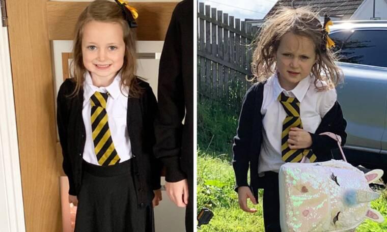 Παιδιά πριν και μετά την πρώτη μέρα στο σχολείο – Απολαυστικό βίντεο