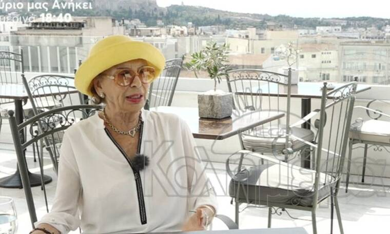 Ρίκα Διαλυνά: Η μεγάλη αλλαγή στη ζωή της μετά το θάνατο του άντρα της - Η εξομολόγησή της