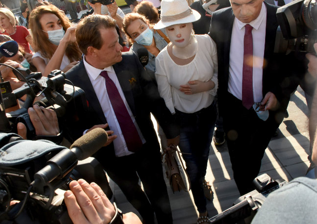Ιωάννα Παλιοσπύρου: Ο λόγος που εξοργίστηκε έξω από την αίθουσα του δικαστηρίου