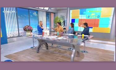 Mega Καλημέρα: Η έκπληξη on air στην Ελεονώρα Μελέτη για τα γενέθλιά της