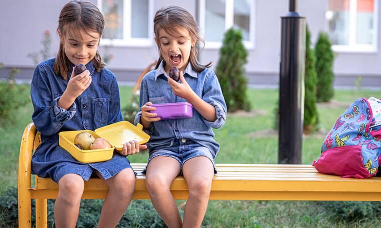 30 υγιεινές προτάσεις για σνακ στο σχολείο