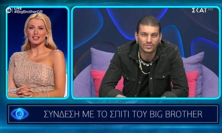 Big Brother: Η αμήχανη στιγμή που ξανασυναντήθηκαν τηλεοπτικά Σπυροπούλου - Μιλάτος