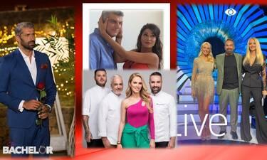 Τηλεθέαση: Big Brother, The Bachelor ή Game of Chefs; Ποιο reality... έκοψε το νήμα χθες το βράδυ;