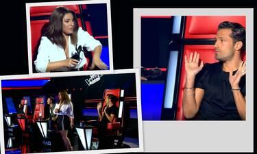 The Voice: Μπλόκαραν την Έλενα Παπαρίζου και κυνηγούσε τους πάντες με το... τακούνι!