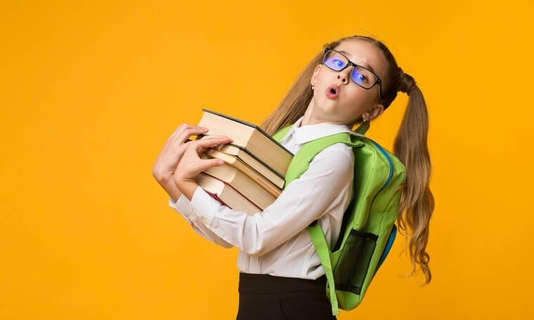 Πόσα κιλά πρέπει να ζυγίζει η σχολική τσάντα; - Τι λένε οι ειδικοί