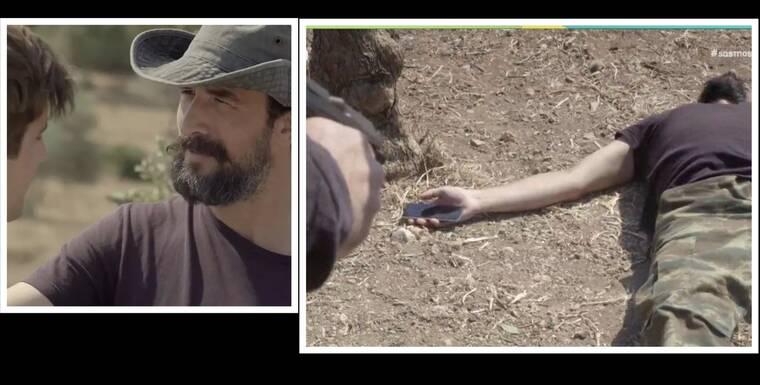 Σασμός: Ο Στεφανής έπεσε στο χώμα από τις σφαίρες και το Twitter πήρε... φωτιά!