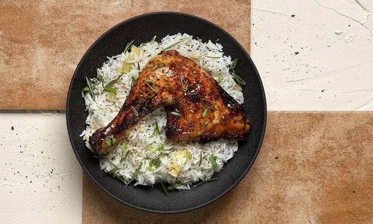 Κοτόπουλο μπούτι με μέλι και σόγια από τον Άκη Πετρετζίκη