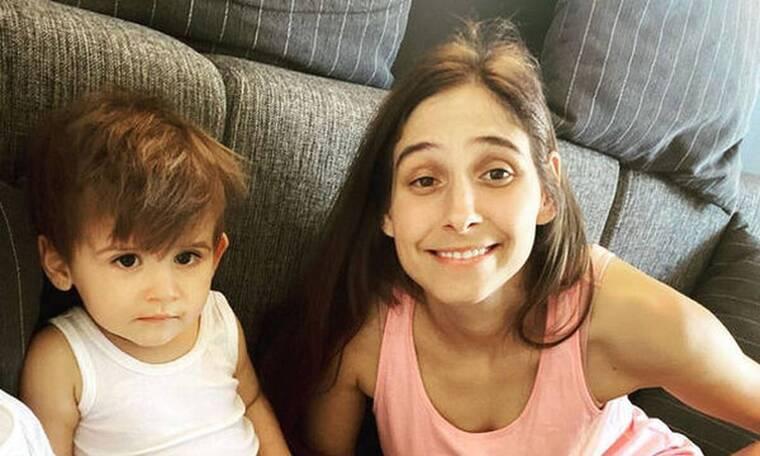 Φωτεινή Αθερίδου: Ο γιος της έγινε δύο ετών - Η τούρτα γενεθλίων & οι ευχές